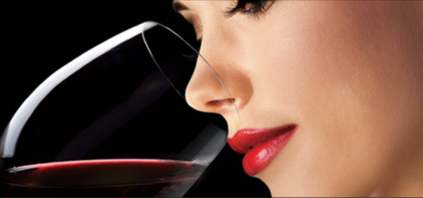 Smelling the wine is almost as much fun as tasting it. ?Foreplay?