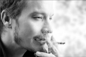 Smoking Handsome Man.PNG