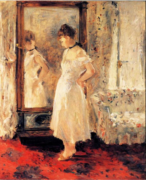 La Psyche, by Berthe Morisot