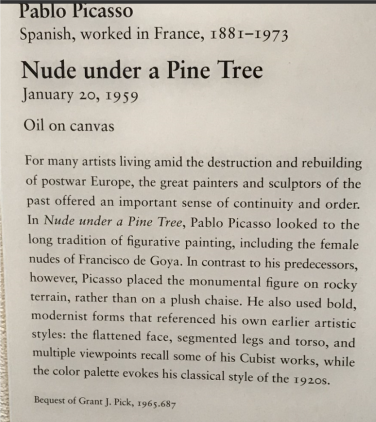 picasso text nude under a pine tree.png