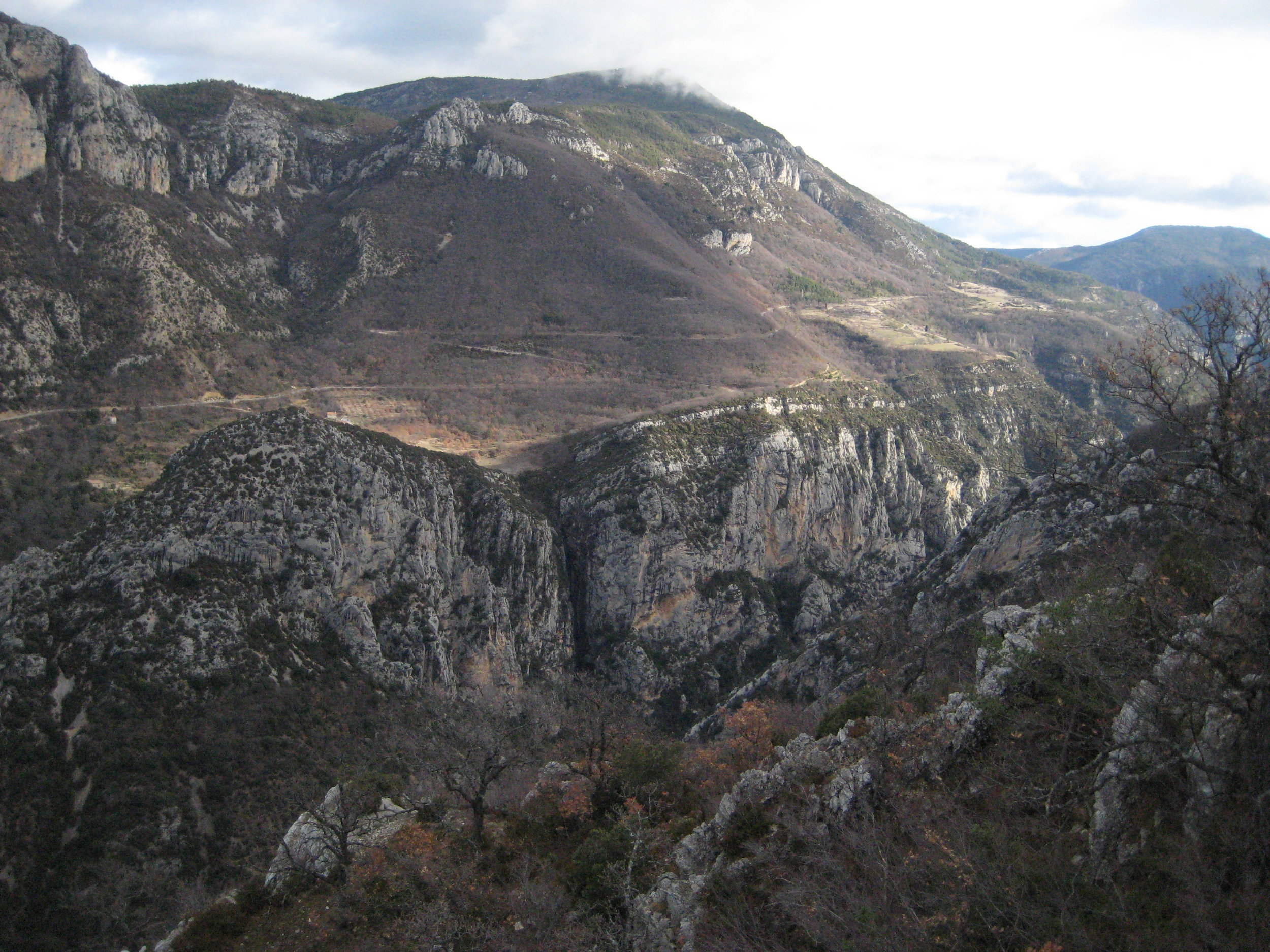 Another view of the  Gorges de Verdon .