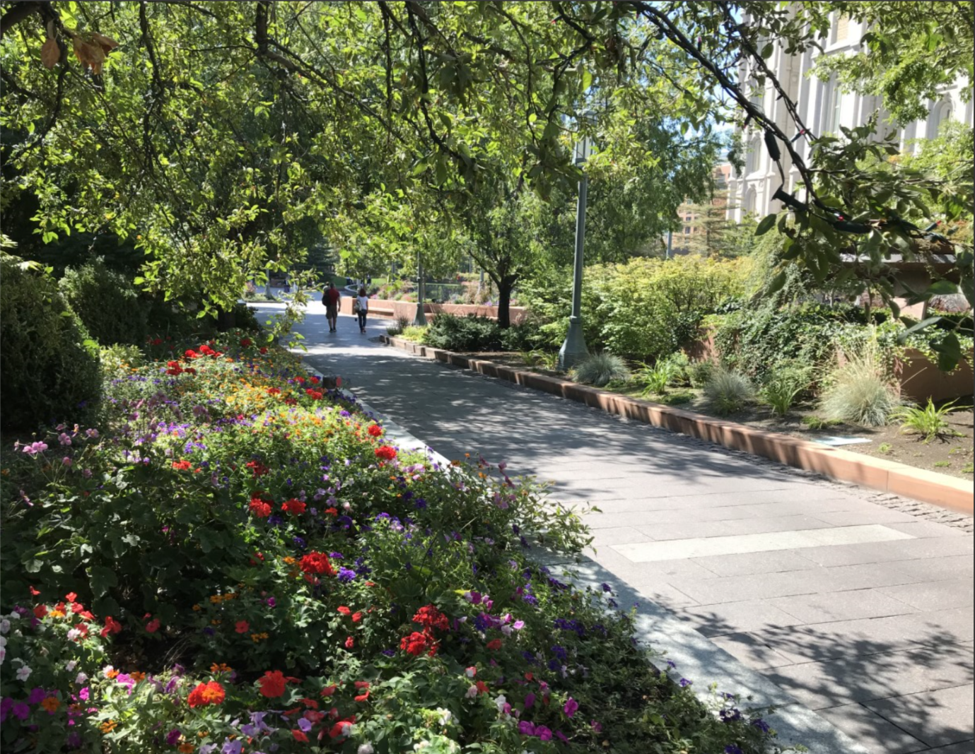 Walking around and through Temple Square is a world-class experience. The 'saints' are proud and do a lot of their proselytizing through the examples of friendliness and love that they exude. Mostly.