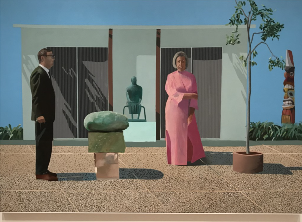 American Collectors David Hockney, (born 9 July 1937) is an English painter, draftsman, printmaker, stage designer and photographer.   An important contributor to the pop art movement of the 1960s, he is considered one of the most influential British artists of the 20th century.