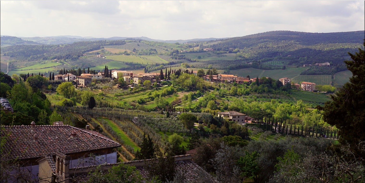 ______________________________________ San Gimignano in Tuscany is the most beautiful place to live that I have ever experienced, including Paris, France and Savannah, GA.