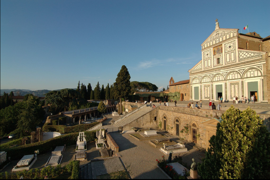 Another view of the basilica.