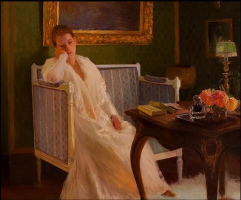 Boredom by Gaston de La Touche, 1893