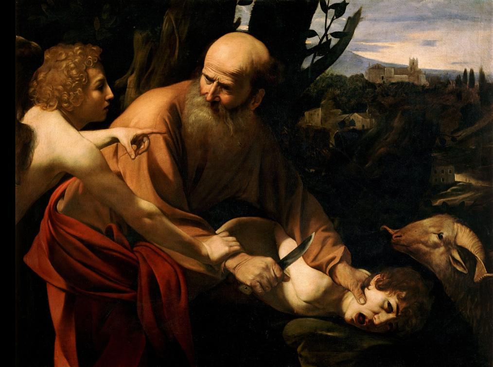 uffizi caravaggio sacrifice of isaac.png