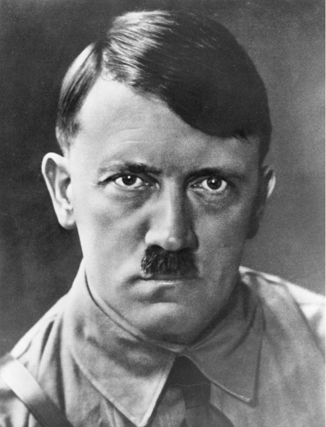 Wanted a nation devoid of diversity. Found cousins in descendants of Anglo-Saxon American immigrants who, like Hitler and his Nazi followers, despised whole classes of people. Actually, he looks a little like my father.