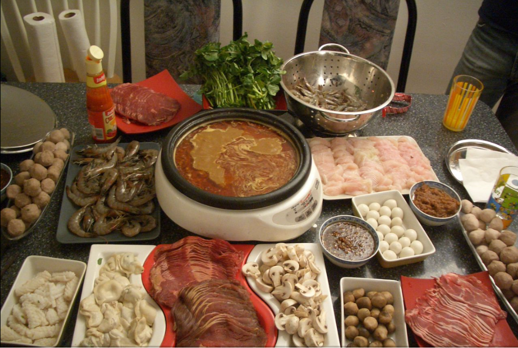Hot Pot.  Chensiyuan at English Wikipedia - Transferred from en.wikipedia to Commons by Ryuch using CommonsHelper.