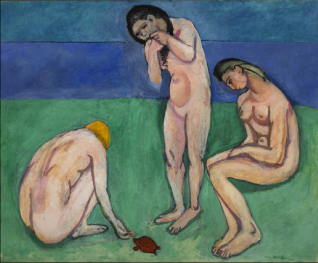 bathers with a turtle matisse.png