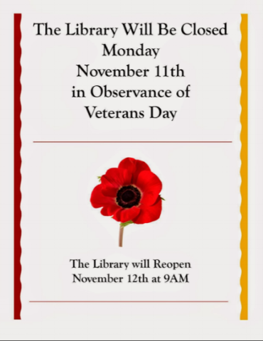 veterans day library closure.png