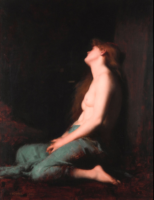 Solitude ,  Jean-Jacques Henner   Been there. done that.