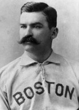 "Michael Joseph ""King"" Kelly (December 31, 1857 – November 8, 1894), also commonly known as ""$10,000 Kelly,"" was an American outfielder, catcher, and manager in various professional American baseball leagues including the National League, International Association, Players' League, and the American Association.  He spent the majority of his 16-season playing career with the Chicago White Stockings and the Boston Beaneaters.   He is also often credited with helping to popularize various strategies as a player such as the hit and run, the hook slide, and the catcher's practice of backing up first base."