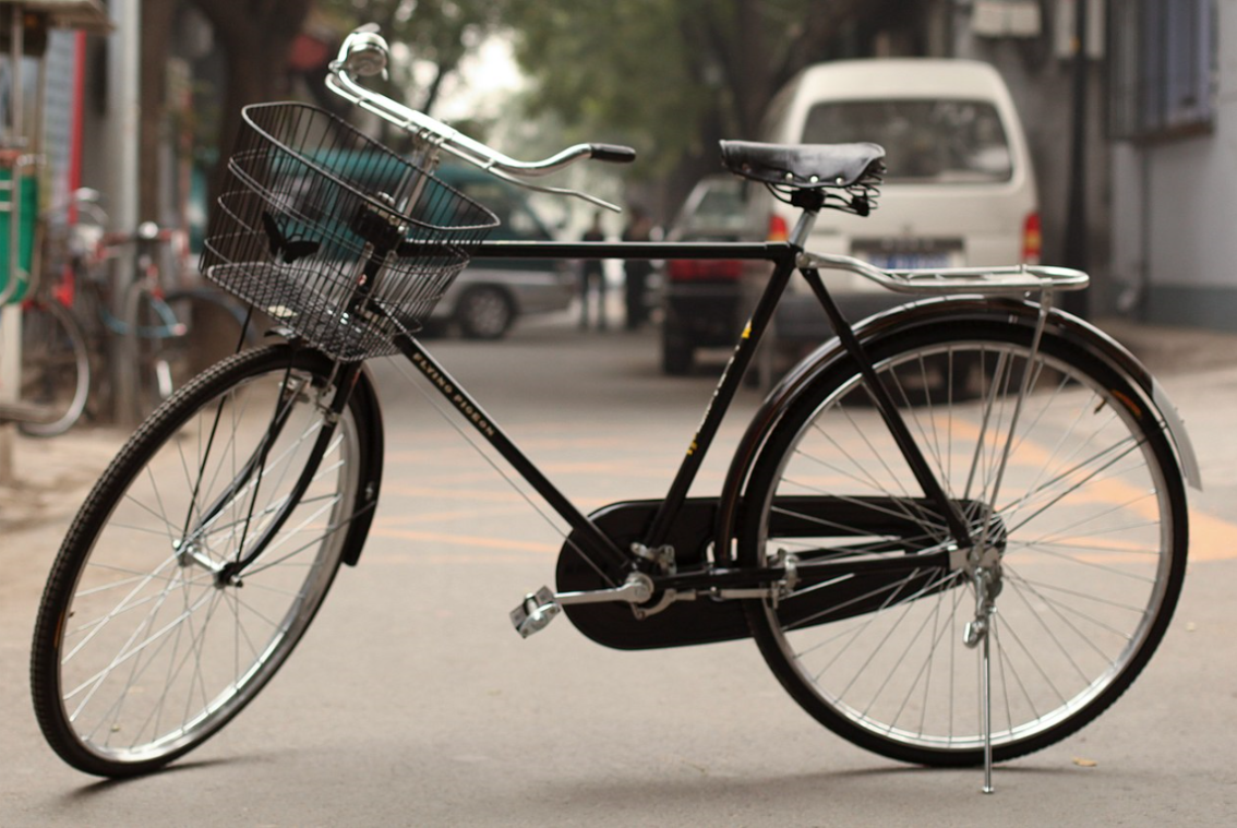 The most popular bicycle model—and most popular vehicle of any kind in the world—is the Chinese Flying Pigeon, with about 500 million produced.