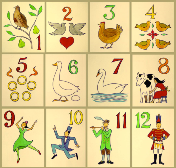 On the twelfth day of Christmas…