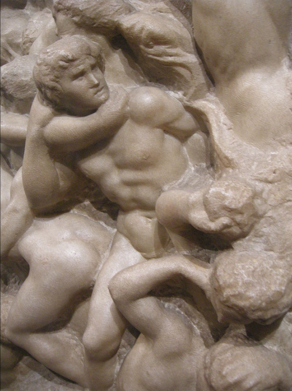michelangelo centaurs right side detail.png