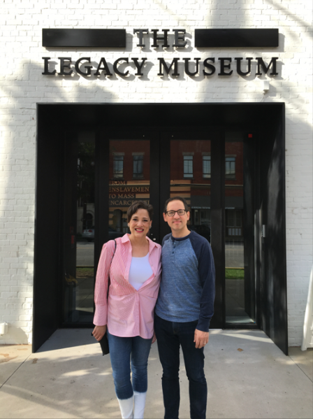 Chris Capossela and his HR partner follow up an early conversation with a team visit to the museum.