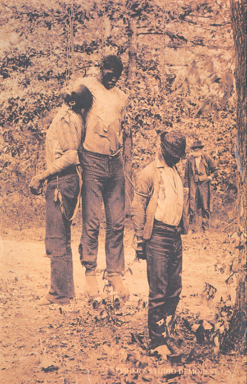 Bodies of three men lynched in Georgia, May 1892.