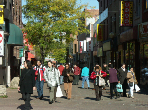 Gauchetière Street, Montreal, Quebec, Canada