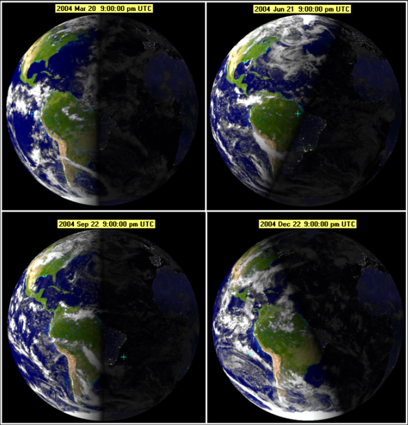 Winter solstice occurs in December for the northern hemisphere, and June for the southern hemisphere.