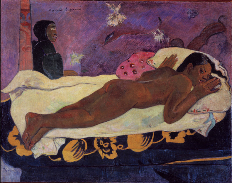 Spirit of the Dead Watching by Paul Gauguin (1892)