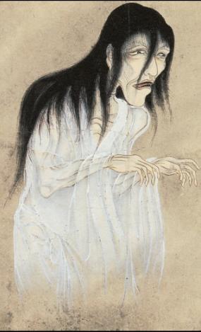 Yūrei (Japanese ghost) from the Hyakkai Zukan, ca. 1737