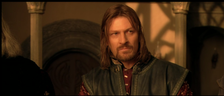Boromir, of Gondor, was the son of the Steward of Gondor, his family effectively ruling the country for hundreds of years while the line of kings, the heirs of Isildor, waited to claim the throne after they defeated the Dark Lord. He joined the Fellowship to stay close to the Ring, waiting for the opportunity to seize it and return it to his father who would use its power to overthrow the Dark Lord.