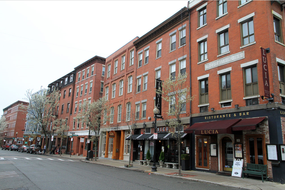 North End, Boston Hanover Street