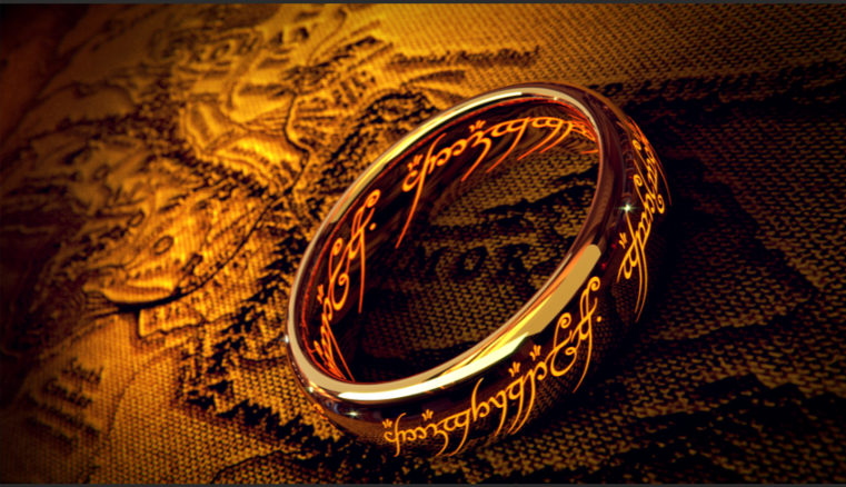 Three Rings for the Elven-kings under the sky, Seven for the Dwarf-lords in their halls of stone, Nine for Mortal Men doomed to die, One for the Dark Lord on his dark throne In the Land of Mordor where the Shadows lie. One Ring to rule them all, One Ring to find them, One Ring to bring them all and in the darkness bind them In the Land of Mordor where the Shadows lie.