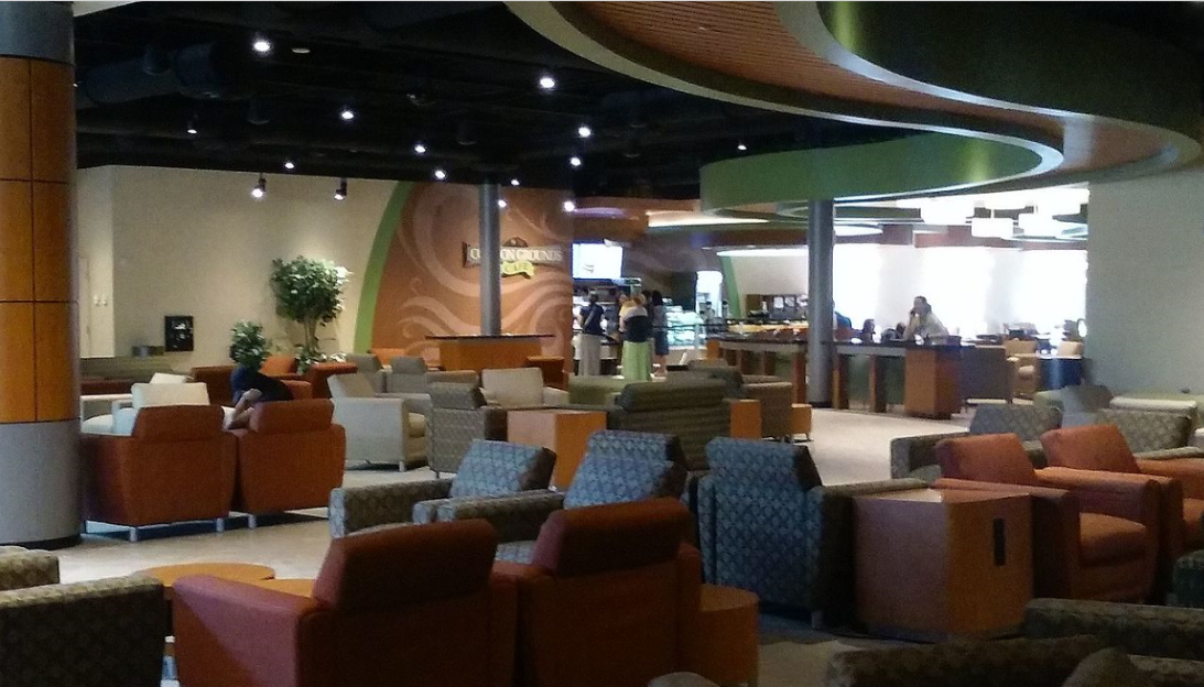 On-campus coffeehouse at  Pensacola Christian College