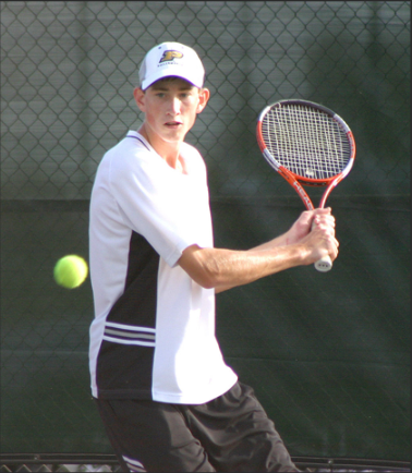 Tennis, anyone? Until his growth spurt, Hayward was more successful in tennis, in which sport he was a two-time all-state singles player.