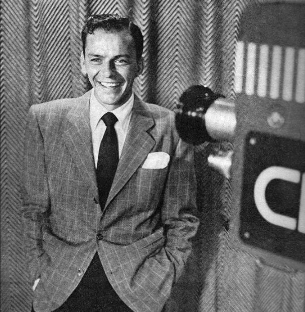 Sinatra in November 1950