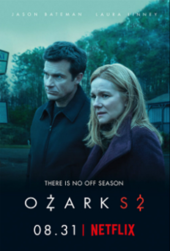 Ozark is an American crime drama web television series created by Bill Dubuque and Mark Williams and produced by Media Rights Capital. Jason Bateman stars in the series; he also directed the first two and last two episodes of season 1 and the first two of season 2.