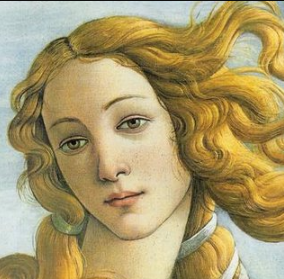 Simonetta Vespucci , a native Ligurian who was a famous beauty during the Renaissance, may have been the model for  Botticelli's    The Birth of Venus   . She was a cousin of Amerigo Vespucci.