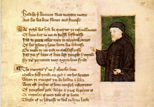 "Geoffrey Chaucer was an English poet and author.  Widely considered the greatest English poet of the Middle Ages, he is best known for The Canterbury Tales.  Chaucer is known as the ""Father of English literature"", and he was the first writer to be buried in Poets' Corner of Westminster Abbey."
