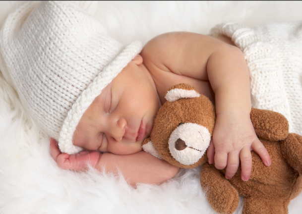 Nobody sleeps like an infant.