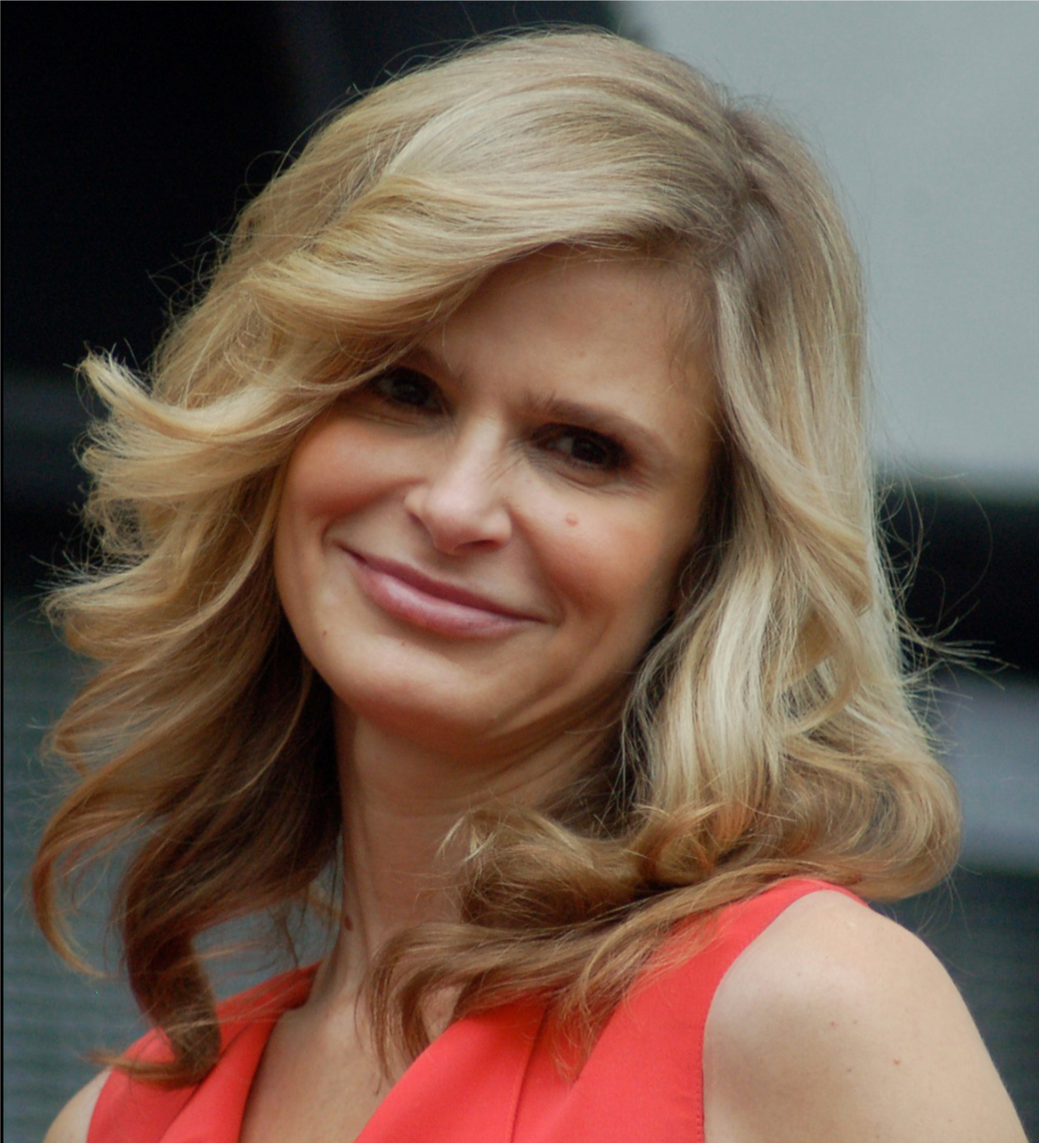 "Kyra Sedgwick receiving a star at the Hollywood Walk of Fame, June 2009.png  ""Thank you. Thank you so much,"" as Deputy Chief  Brenda Leigh Johnson  in ""The Closer."""