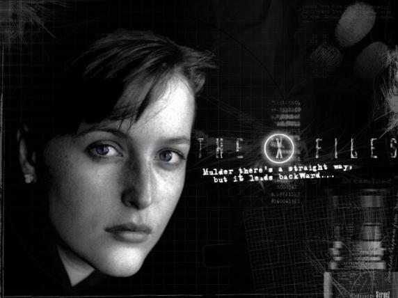 Gillian Anderson as Dana Scully