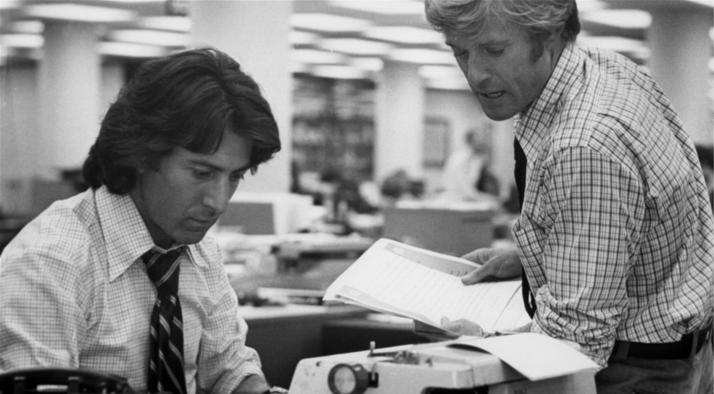 Investigative Journalism: All the President's Men