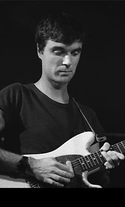 Byrne playing guitar with Talking Heads, 1978 Jean-Luc - originally posted to Flickr as Talking Heads