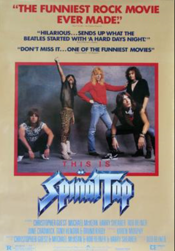 He has played roles in several Christopher Guest ensemble films, particularly as David St. Hubbins, lead vocalist and co-lead guitarist of the fictional rock band Spinal Tap in This Is Spinal Tap.   For those who haven't seen it yet, it is a hilarious cult classic.