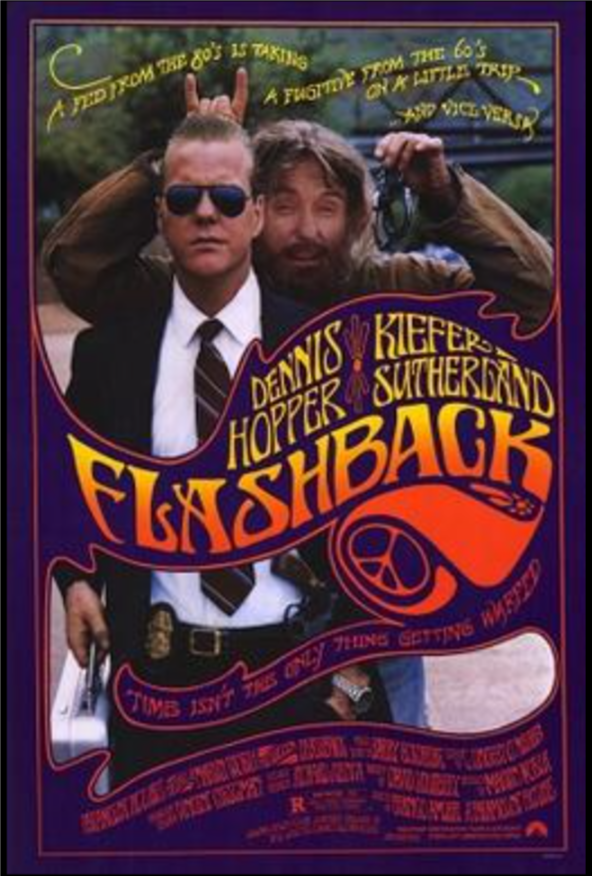 In 1990, McKean landed a memorable role opposite Kiefer Sutherland and Dennis Hopper in the American adventure comedy movie, Flashback.