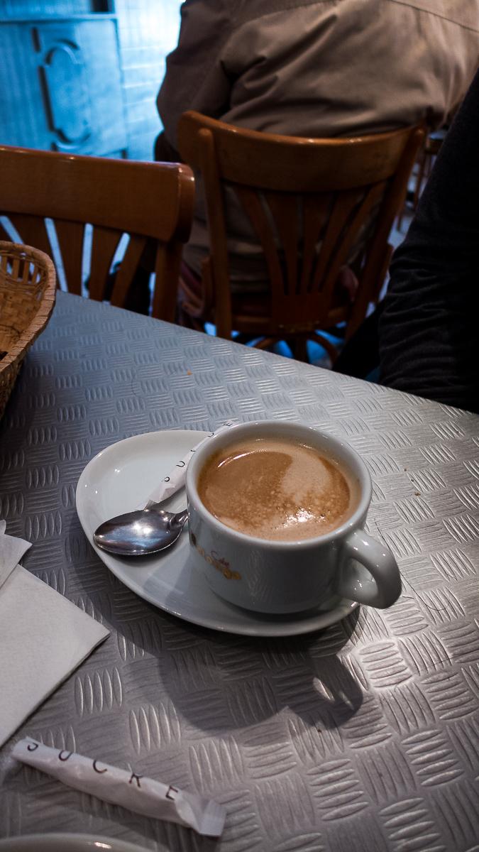 Café du Grand Cour, Aups, Provence, France photo © Howard Dinin.