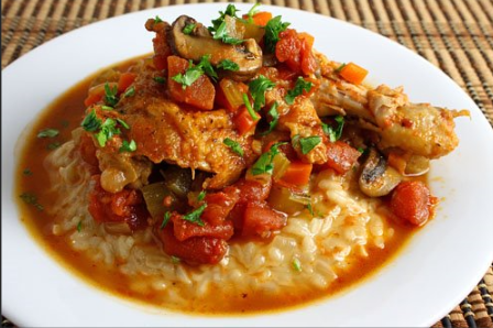 U.S.-style chicken cacciatore Better as leftover, they said. Chris Bennett - Chicken Cacciatore (Hunter Style Chicken)
