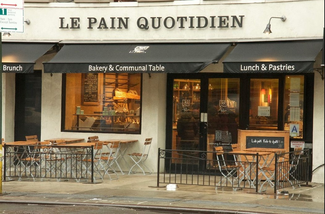 A Le Pain Quotidien in New York City Nick Burt - Own work