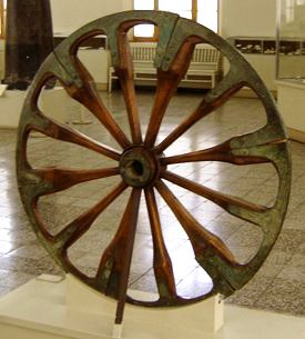 The wheel was invented circa 4000 BCE. Zereshk