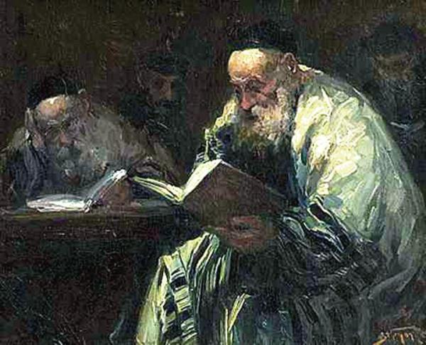 The Talmud is the basis for all codes of Jewish law, and is widely quoted in rabbinic literature. Talmud Readers by Adolf Behrman