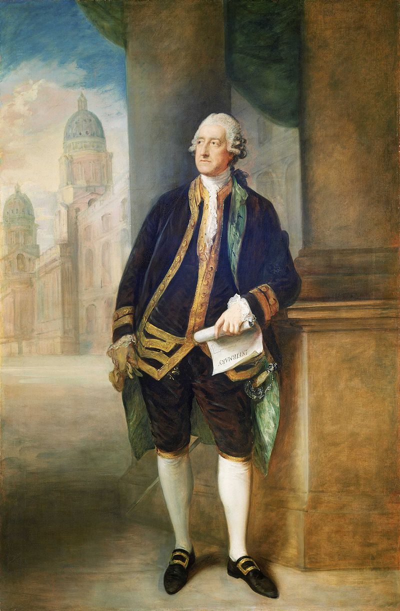 John Montagu, 4th Earl of Sandwich  Thomas Gainsborough  - The original uploader was  Hugh Manatee  at  English Wikipedia .