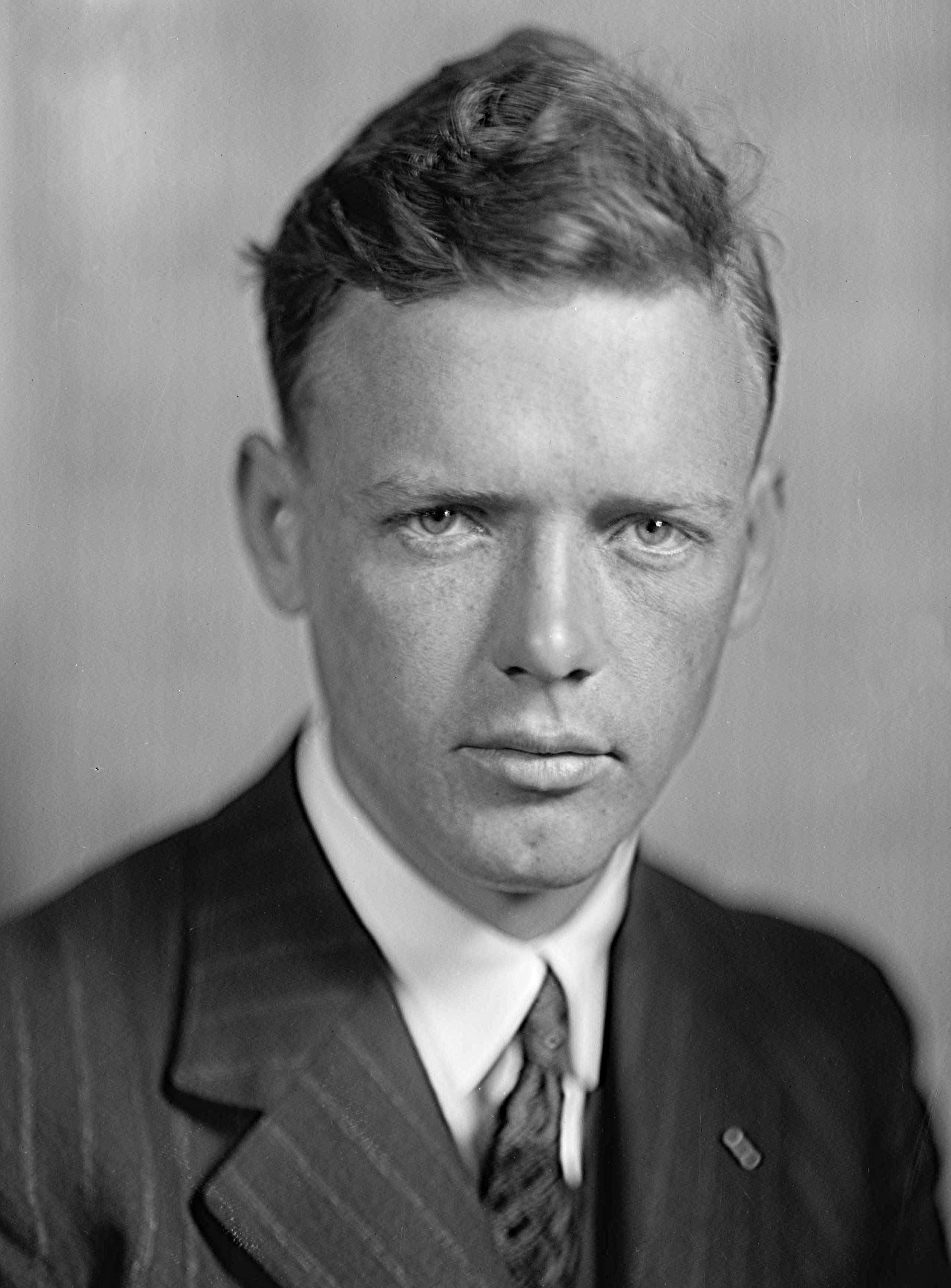 Charles Lindbergh Harris & Ewing - This image is available from the United States Library of Congress's Prints and Photographs division