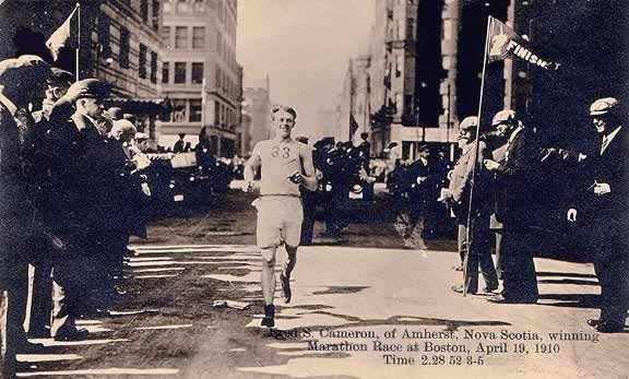 Boston Marathon Finish Line, 1910.